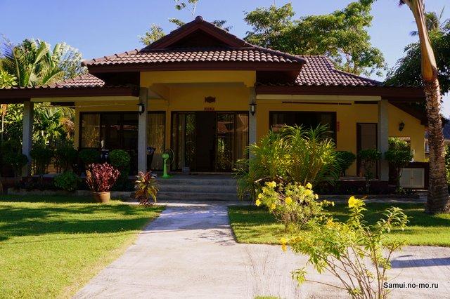 Арендный дом в Таиланде, на острове Самуи, в районе Маенам